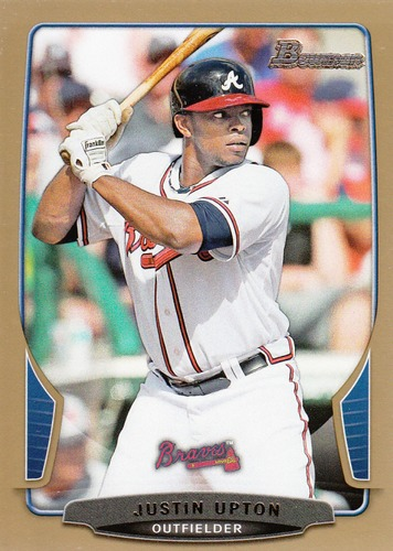 Photo of 2013 Bowman Gold #11 Justin Upton