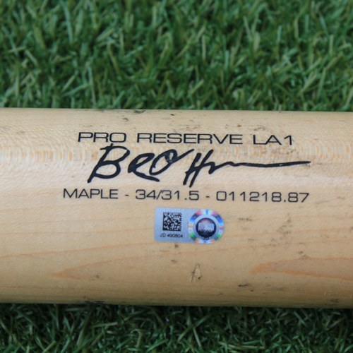 Photo of Team-Issued Bat: Ryan O'Hearn