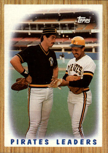 Photo of 1987 Topps #131 Pirates Team/(Sid Bream and/Tony Pena)