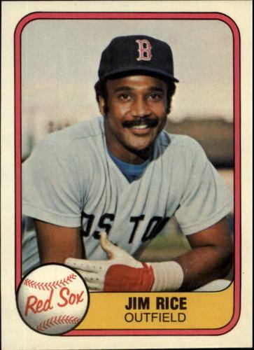 Photo of 1981 Fleer #222 Jim Rice