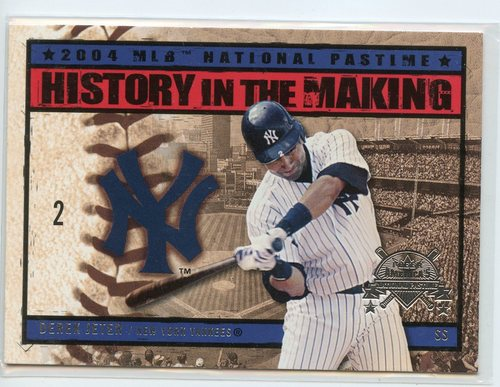 Photo of 2004 National Pastime History in the Making #7 Derek Jeter