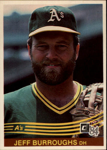 Photo of 1984 Donruss #156 Jeff Burroughs