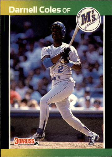 Photo of 1989 Donruss #566 Darnell Coles DP