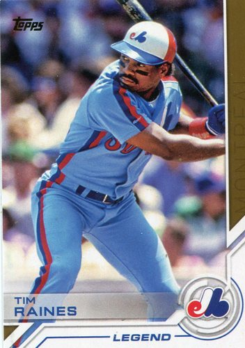 Photo of 2017 Topps Salute #S159 Tim Raines