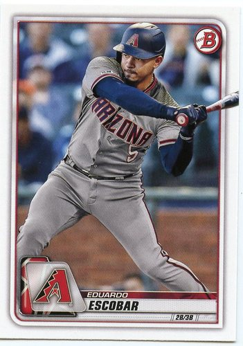 Photo of 2020 Bowman #29 Eduardo Escobar