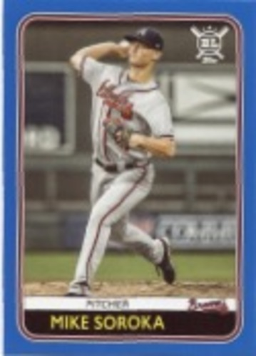 Photo of 2020 Topps Big League Blue #207 Mike Soroka