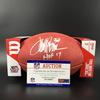 NFL - Broncos Terrell Davis Signed Authentic Football W/ 100 Seasons Logo