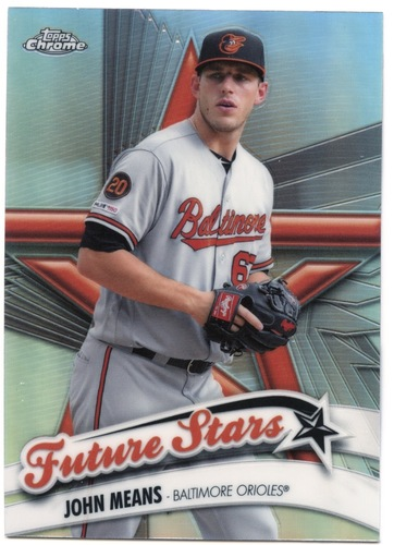 Photo of 2020 Topps Chrome Future Stars #FS18 John Means