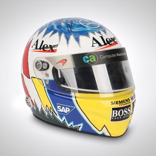 Photo of Alex Wurz 2002-2003 McLaren Signed Test-used Helmet