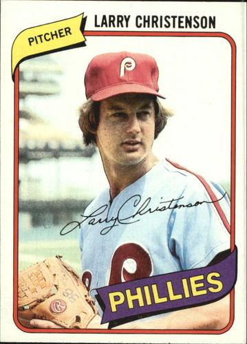 Photo of 1980 Topps #161 Larry Christenson
