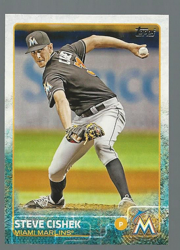 Photo of 2015 Topps #254 Steve Cishek