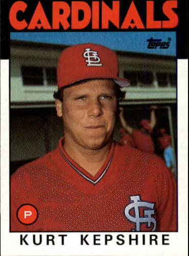Photo of 1986 Topps #256 Kurt Kepshire