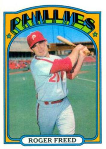 Photo of 1972 Topps #69 Roger Freed