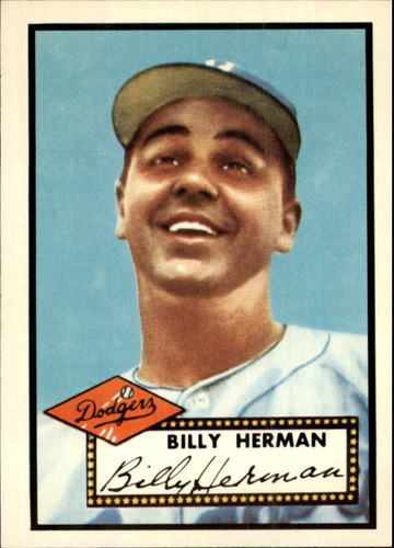 Photo of 1983 Topps 1952 Reprint #394 Billy Herman CO