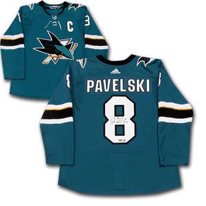 Joe Pavelski Autographed San Jose Sharks adidas Pro JerseyJoe Pavelski Autographed  San Jose Sharks adidas Pro Jersey 849fae792