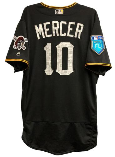 Photo of Jordy Mercer Game-Used 2018 Spring Training Jersey