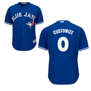 Toronto Blue Jays Youth Customizable Cool Base Replica Alternate Jersey by Majestic