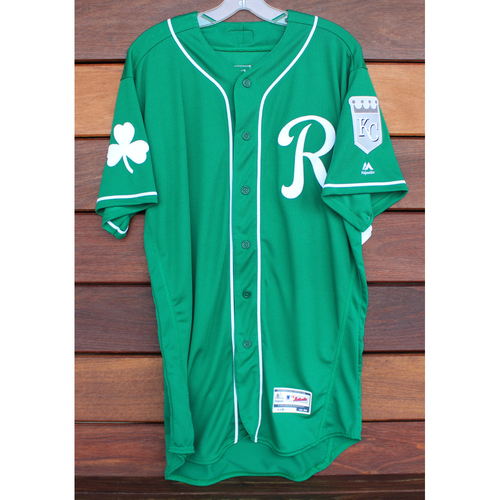 Team-Issued St. Patrick's Day Jersey: Rudy Martin (Size - 44)