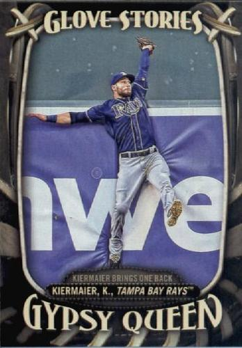 Photo of 2016 Topps Gypsy Queen Glove Stories #GS3 Kevin Kiermaier