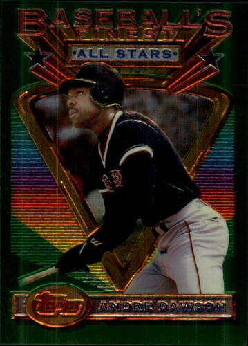 Photo of 1993 Finest #84 Andre Dawson AS