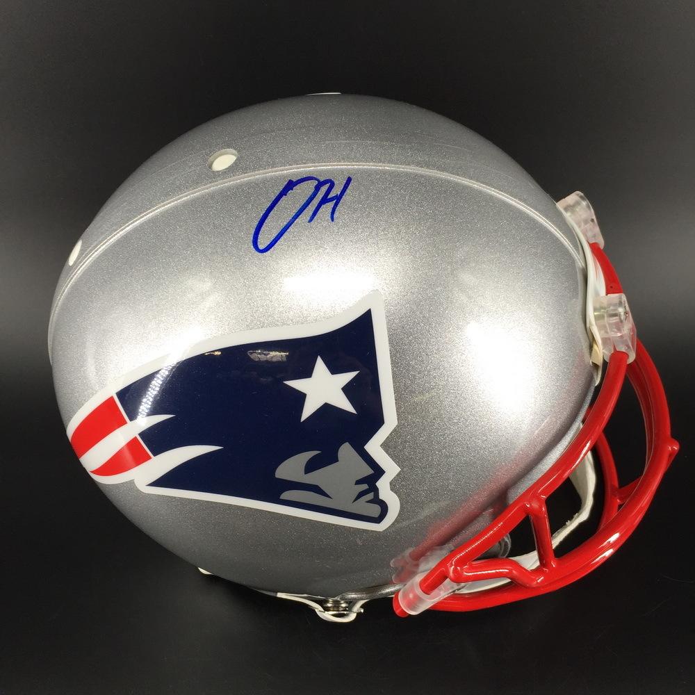 NFL - Patriots Damien Harris Signed Proline Helmet