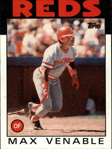 Photo of 1986 Topps #428 Max Venable