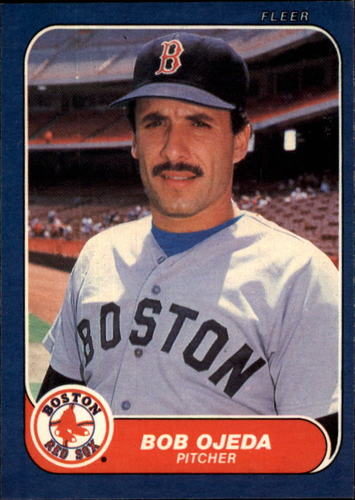 Photo of 1986 Fleer #357 Bob Ojeda