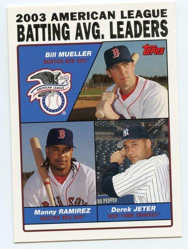 Photo of 2004 Topps #337 Mueller/Manny/Jeter