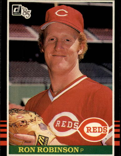 Photo of 1985 Donruss #649 Ron Robinson