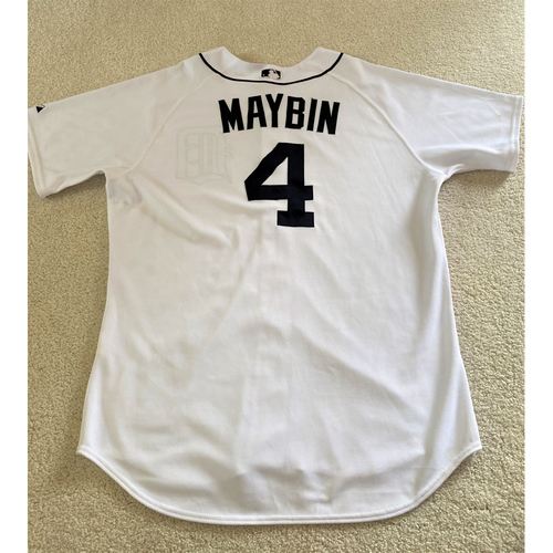Photo of Cameron Maybin #4 Detroit Tigers Home Jersey (NOT MLB AUTHENTICATED)