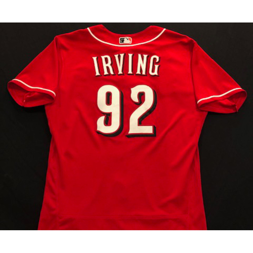 Nate Irving -- 2020 Spring Training Jersey -- Team-Issued -- Size 46