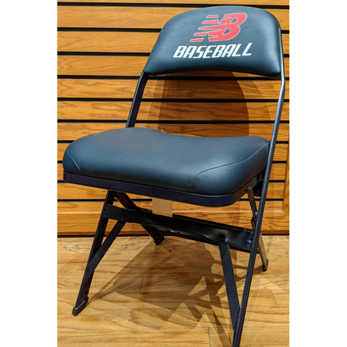 Photo of Fenway Park Visitor's Clubhouse Game Used Justin Verlander Locker Room Chair