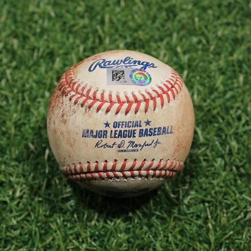 Photo of Game-Used Baseball: Willi Castro 66th Career Hit, 31st Career RBI (9/24/20 DET @ KC)