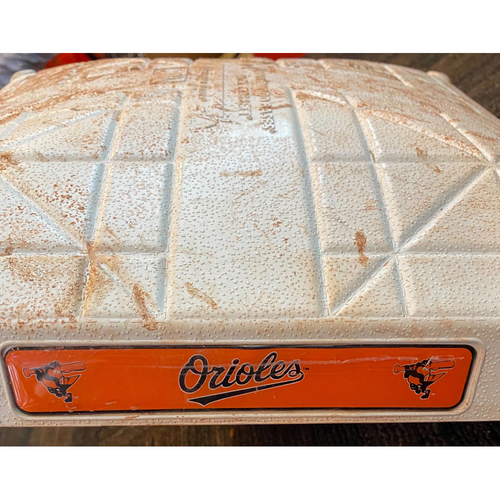 Photo of Base: vs. Atlanta Braves - Game-Used