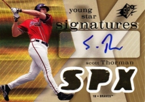 Photo of 2007 SPx Young Stars Signatures #ST Scott Thorman