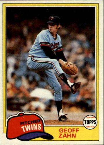 Photo of 1981 Topps #363 Geoff Zahn