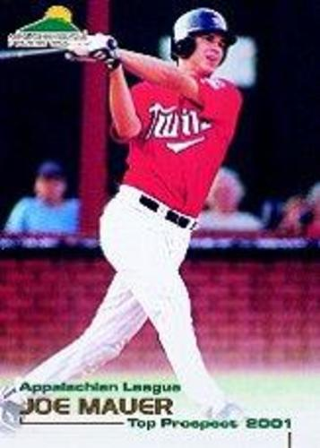 Photo of 2001 Appalachian League Top Prospect Grandstand #21 Joe Mauer