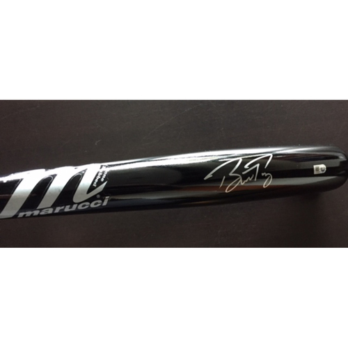 Giants Metallica Auction: Buster Posey Signed Bat
