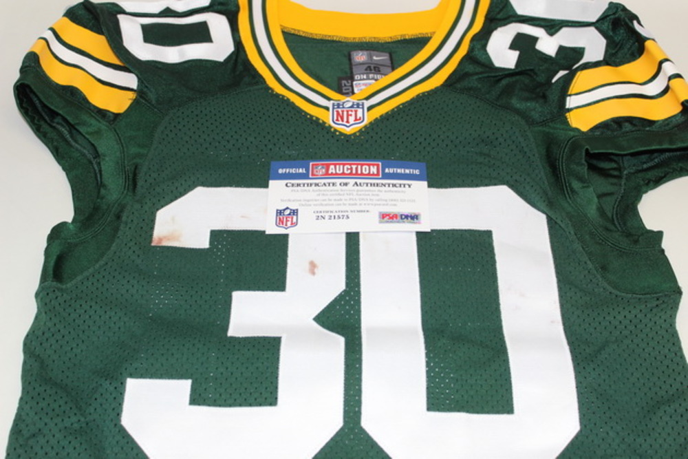 NFL Auction | STS - PACKERS JOHN KUHN GAME WORN PACKERS JERSEY ...