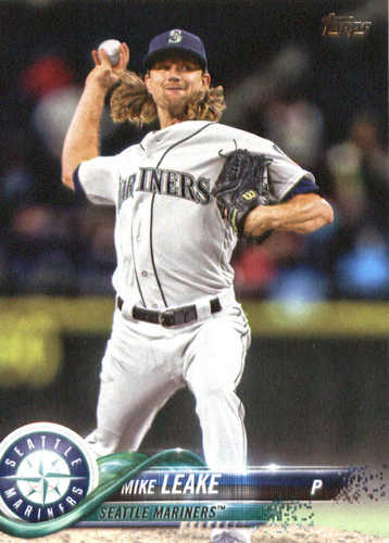 Photo of 2018 Topps #163 Mike Leake