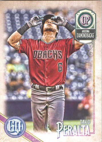 Photo of 2018 Topps Gypsy Queen #38 David Peralta