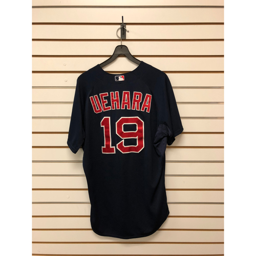 Photo of Koji Uehara Game Used September 18, 2015 Road Alternate Jersey