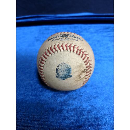Game Used Baseball: Pitcher: Andrew Chafin, Batter: Cody Bellinger (Single)- 5-8-2018 vs. ARI