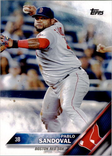 Photo of 2016 Topps #285 Pablo Sandoval