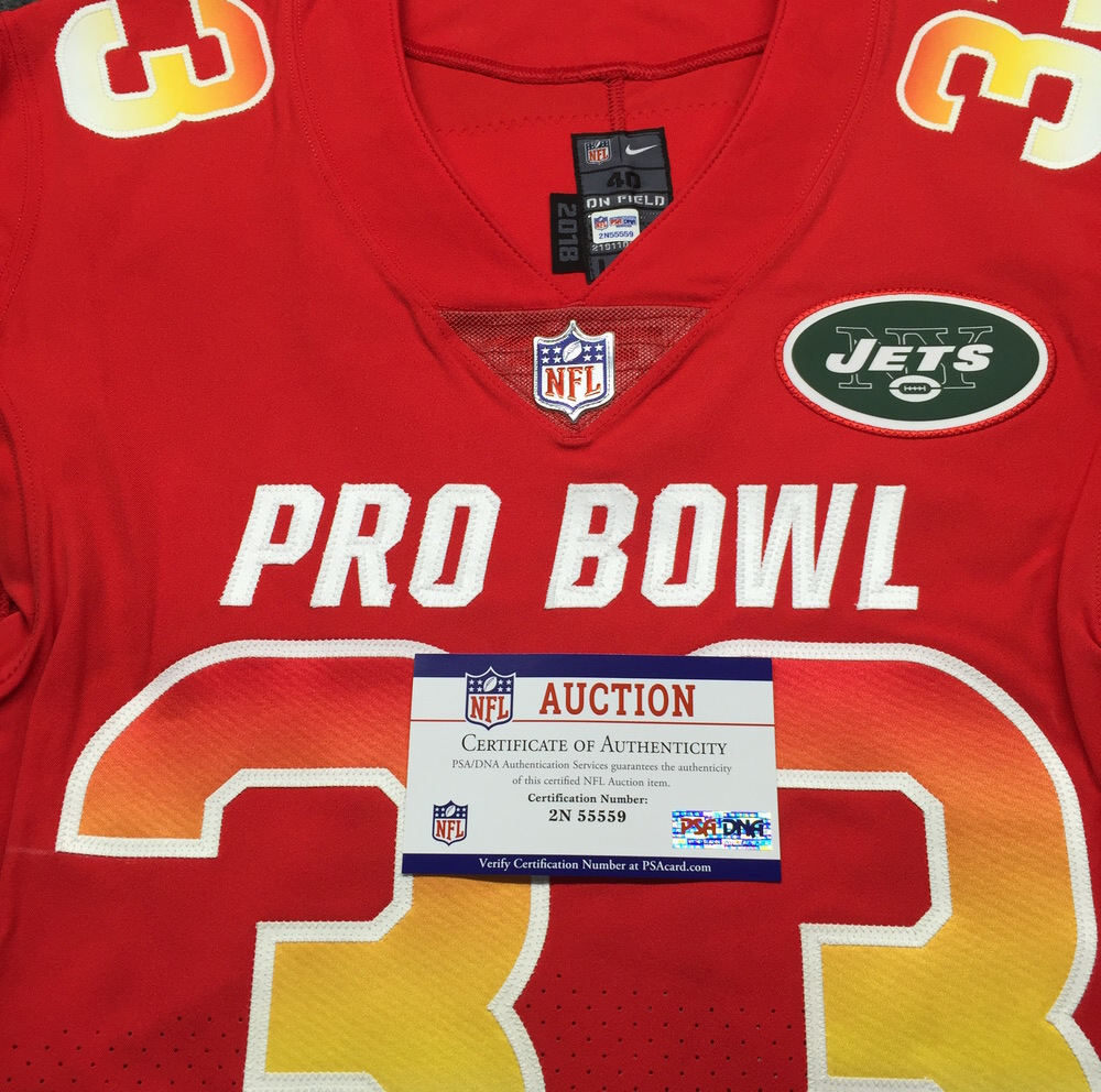 size 40 0380c 16b64 NFL Auction | NFL - Jets Jamal Adams Game Issued 2019 Pro ...