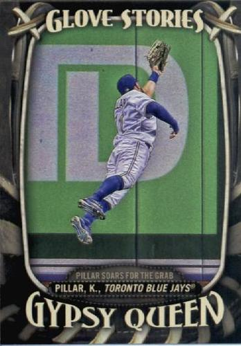 Photo of 2016 Topps Gypsy Queen Glove Stories #GS5 Kevin Pillar