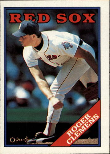 Photo of 1988 O-Pee-Chee #70 Roger Clemens
