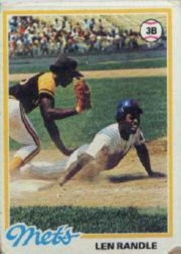 Photo of 1978 Topps #544 Len Randle DP