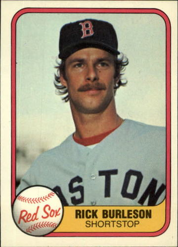 Photo of 1981 Fleer #225 Rick Burleson