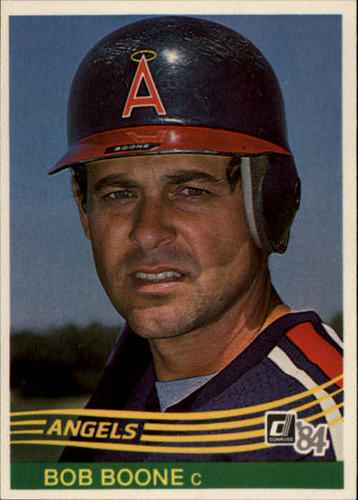 Photo of 1984 Donruss #158 Bob Boone